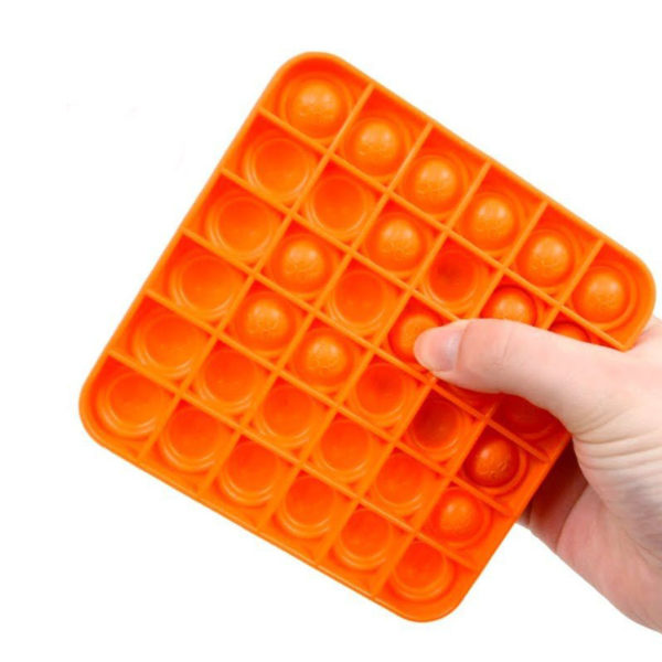 Fun square silicone multifunction game | Orange