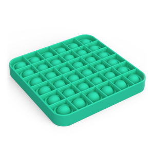 Fun square silicone multifunction game | Green