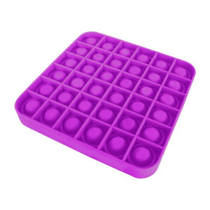 Fun square silicone multifunction game | Purple