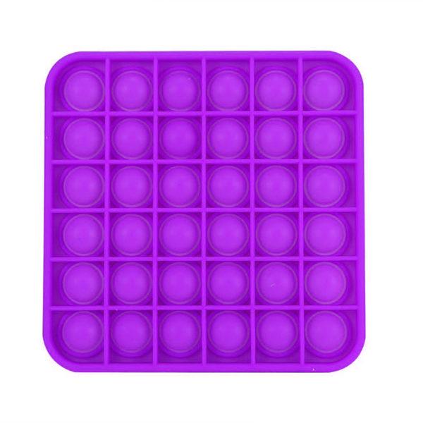 Fun square silicone multifunction game | Purple