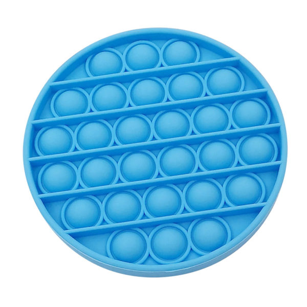 Fun round silicone multifunction game | Blue