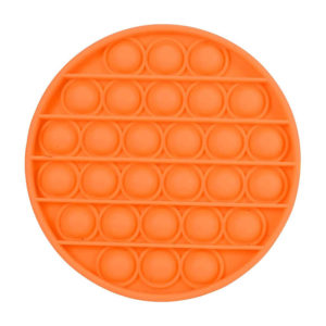 Fun round silicone multifunction game | Orange