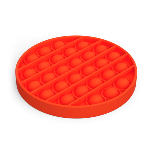 Fun round silicone multifunction game | Red
