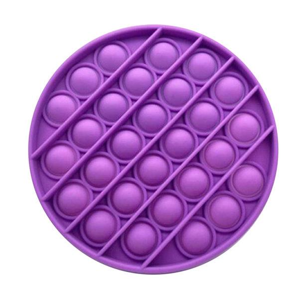 Fun round silicone multifunction game | Purple