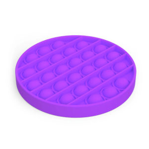 Fun round silicone multifunction game | Purple