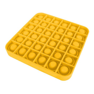 Fun square silicone multifunction game | Yellow