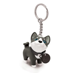 Dog keyring | Black