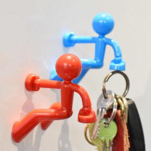 Magnetic man Keychain | Orange