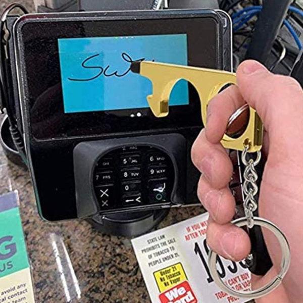 Smart multifunction hygienic key | Pink