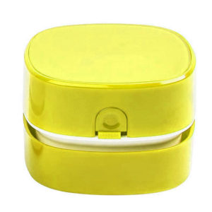 Mini table vacuum cleaner | Yellow