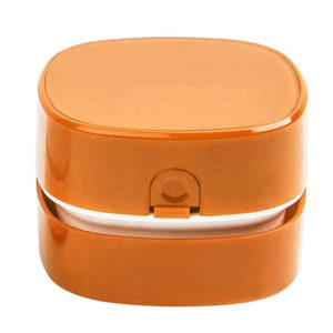 Mini table vacuum cleaner | Orange