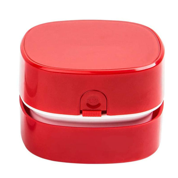 Mini table vacuum cleaner   Red