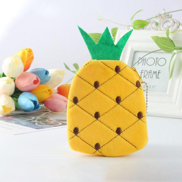 Pochette pour clés Fruit | Ananas