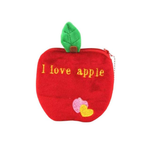 Pochette pour clés Fruit | Pomme