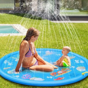 Inflatable water play mat for children Ø 150cm