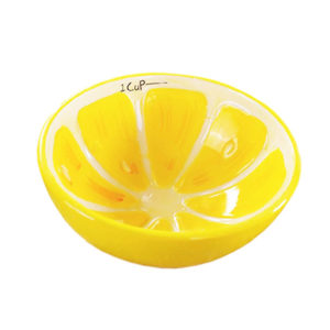 Colorful Fruity Ceramic Bowl | Lemon
