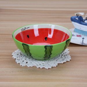 Colorful Fruity Ceramic Bowl | Watermelon