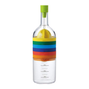 8-in-1 bottle of 8 colorful cookware