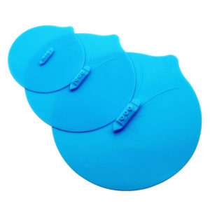Set of 3 Silicone Steam Boat lids from Ø 13cm to Ø 25cm