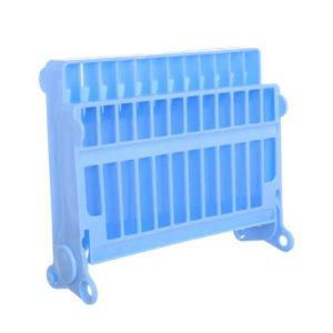 Compact Folding Mini Dish Drainer | Blue