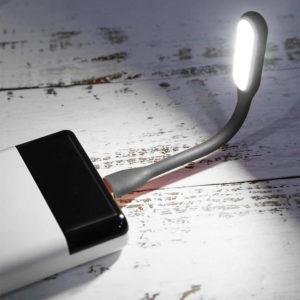Mini LED USB Reading Light | Black