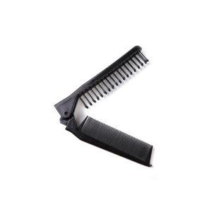 Foldable Pocket Comb-Brush | Black
