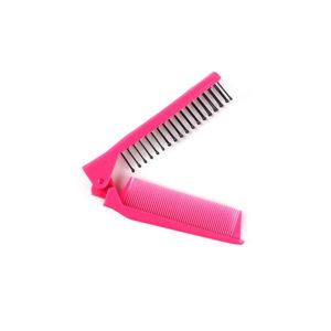 Foldable Pocket Comb-Brush | Pink