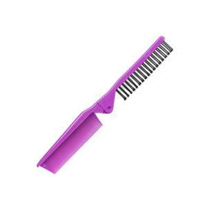 Foldable Pocket Comb-Brush | Purple