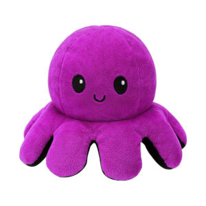 Adorable giant reversible octopus soft toy   Pink & Blue