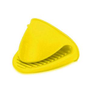 Medium silicone oven mitt | Yellow