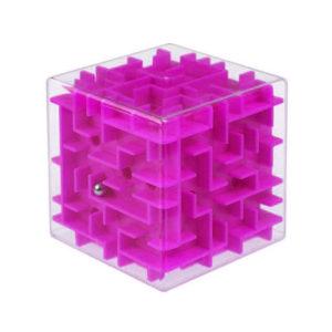 3d ball maze cube | Pink