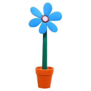 Flower pen with its pot | Blue