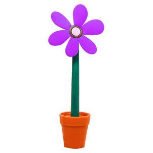 Flower pen with its pot | Purple